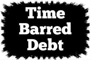 Time Barred Debt