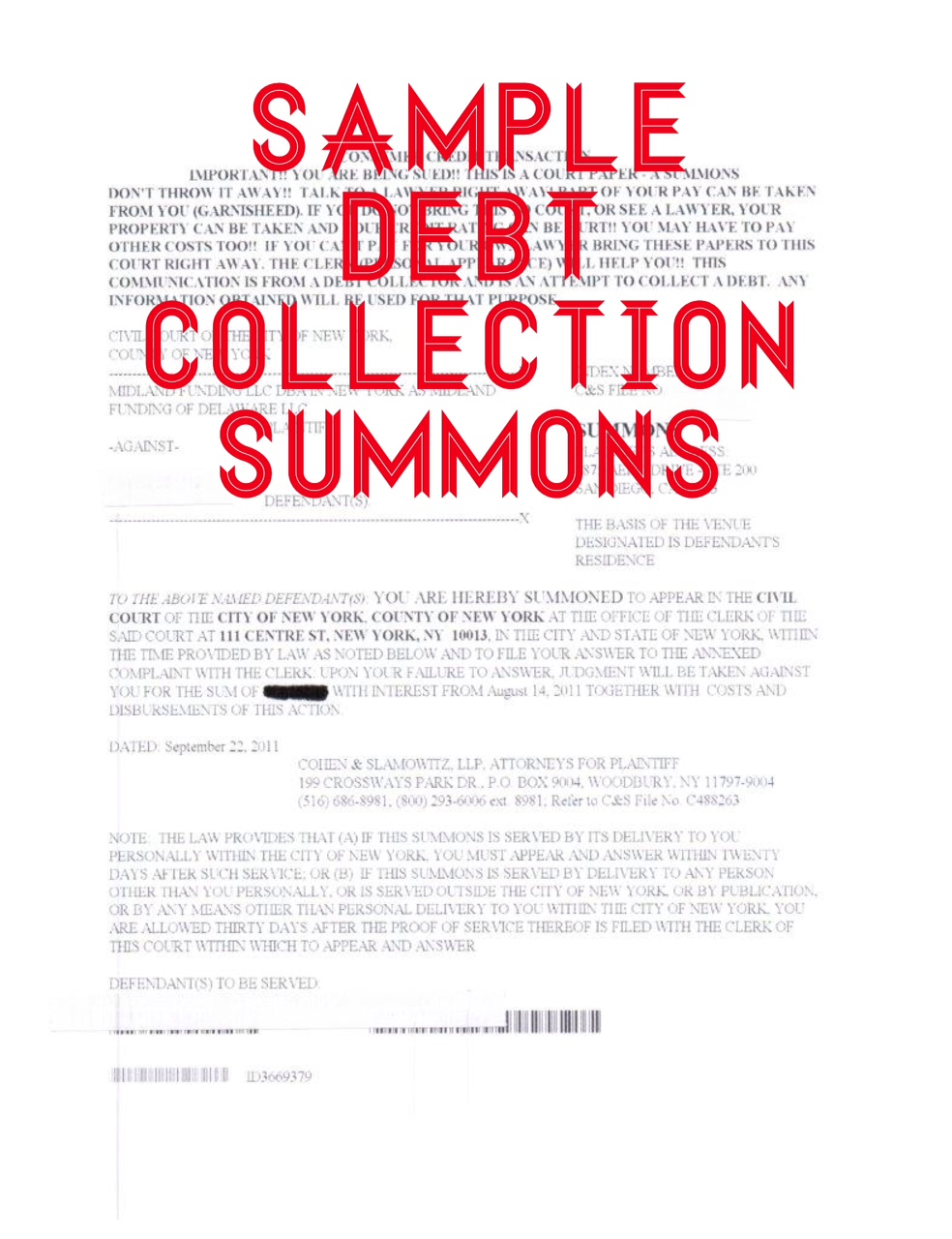 How to answer a summons and complaint in a debt collection lawsuit how to answer a summons and complaint in a debt collection lawsuit altavistaventures
