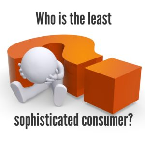 Who is The Least Sophisticated Consumer