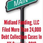 How Many New York Debt Collection Cases Did Midland Funding, LLC File in 2013?