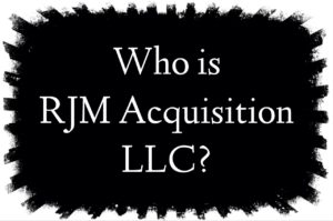 Who is RJM Acquisition