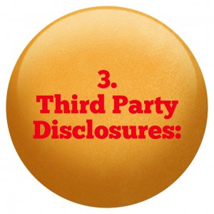 3 Third Party Disclosure