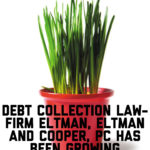 Debt Collection Law-Firm Eltman, Eltman and Cooper, PC Has Been Growing