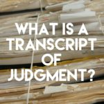 What is a New York Transcript of Judgment?
