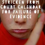 Midland Funding Case Stricken from Court Calendar for Failure of Evidence