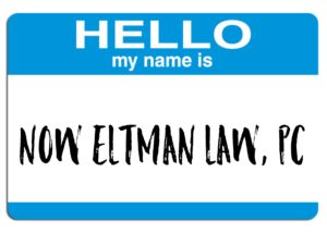 Debt Collection Law-Firm Eltman, Eltman and Cooper, PC Changed Its Name to Eltman Law, PC