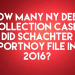 Debt Collection Law-Firm Schachter Portnoy Filed 475 1,884 NY Debt Collection Cases In 2016