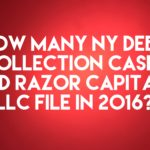 Debt Buyer Razor Capital, LLC Filed Only 62 New York Debt Collection Cases In 2016