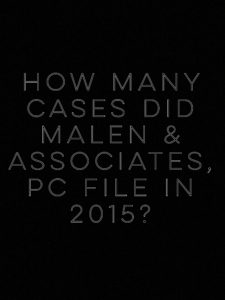 NY Debt Collection Law Firm Malen & Associates, PC Filed 5,403 Debt Collection Cases In 2015