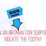 Can an Information Subpoena Violate the FDCPA?