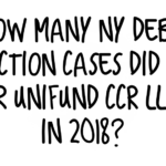 Debt Buyer Unifund CCR, LLC Filed 2,271 NY Debt Collection Cases In 2018