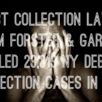 Debt Collection Law Firm Forster & Garbus Filed a Whopping 23,312 NY Debt Collection Cases In 2018