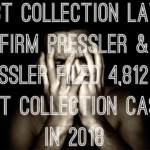 Debt Collection Law-Firm Pressler and Pressler Filed 4,812 NY Debt Collection Cases In 2018