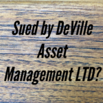 Sued By Deville Asset Management LTD In New York or New Jersey?
